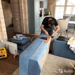 Перетяжка мебели на дому-2