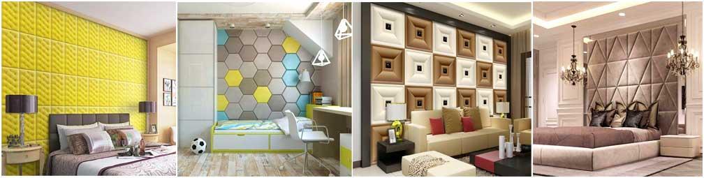 Мягкие панели лля стен и потолков