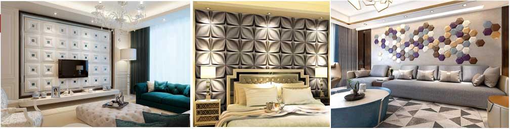 Мягкие стеновые панели разнообразных форм