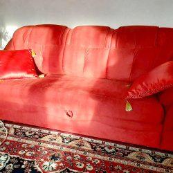 Работа №84 Красный диван